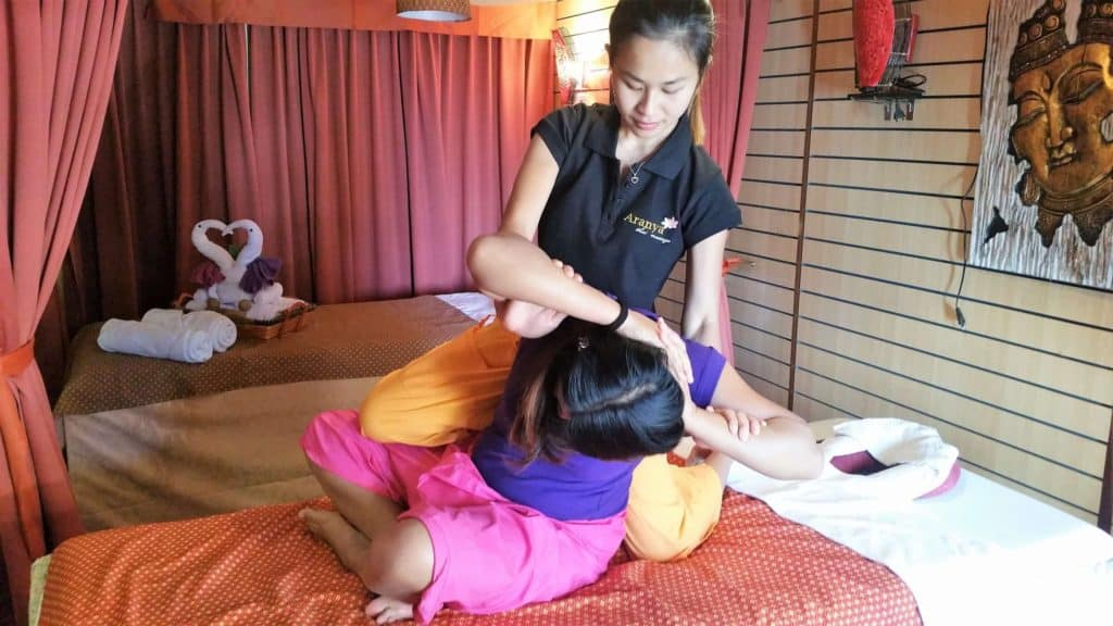 Team Aranya Thai massage